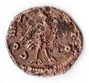 Antoniniano de Claudio II imitación hispánica. CONSECRATIO. Águila a dcha. Mon018r