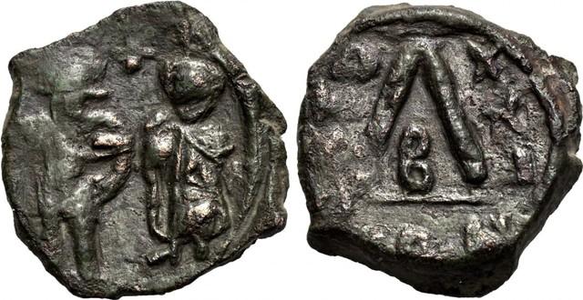 Denominación de las monedas de Bizancio. 1ª parte 30_nummi