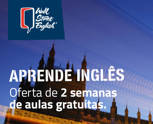 Promo - Oferta de 2 Semanas para o Wall Street English.  Ingles