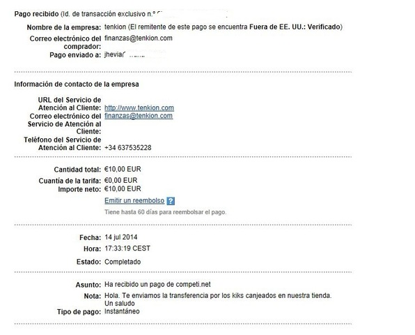 2º Pago de Competi de 10 Euros Competi2_Pago140714