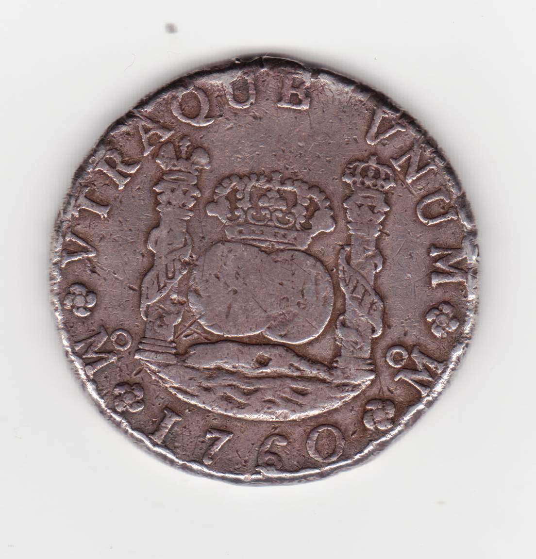 8 reales 1760. Carlos III. Méjico Columnario_001