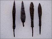 Puščice- osti / Arrowheads-spear