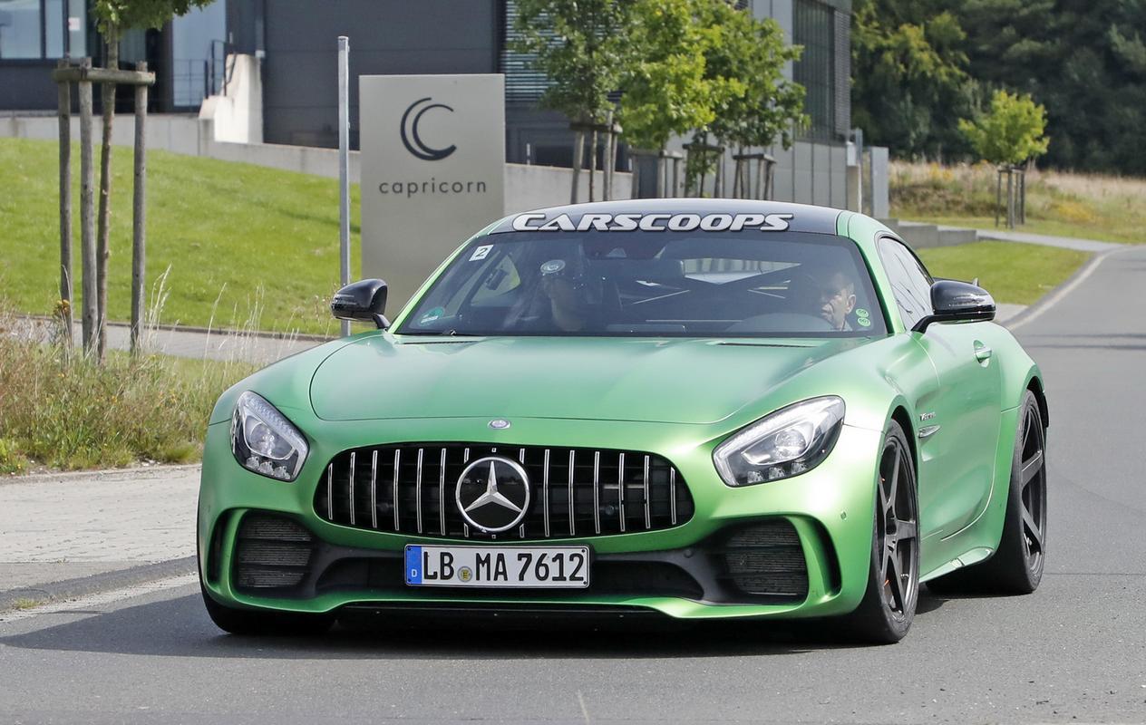 AMG GT Black Series esperado para 2020 Mercedes-amg-gt-r-black-series-1