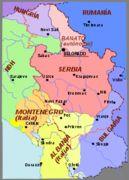 2 Dinares República de la Salvación Nacional de Serbia  220px_Srbsko_WWII_es_svg