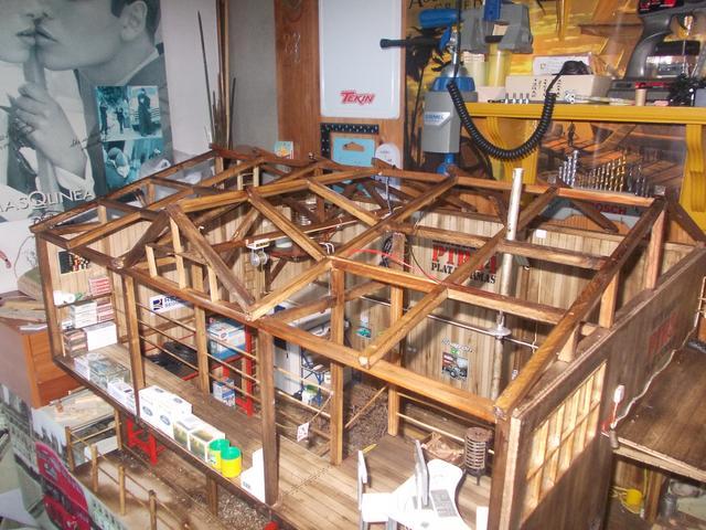 """Diorama: taller mecánico """"de toda la vida"""" escala 1/10 - Página 2 148"""