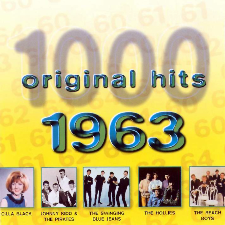 1000 Original Hits 1960-1999  1000_Original_Hits_1963_-_Front