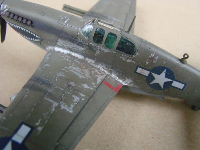 P-51 Mustang, Academy i P-51B Mustang (rebuild) Revell, 1/72 DSC02580
