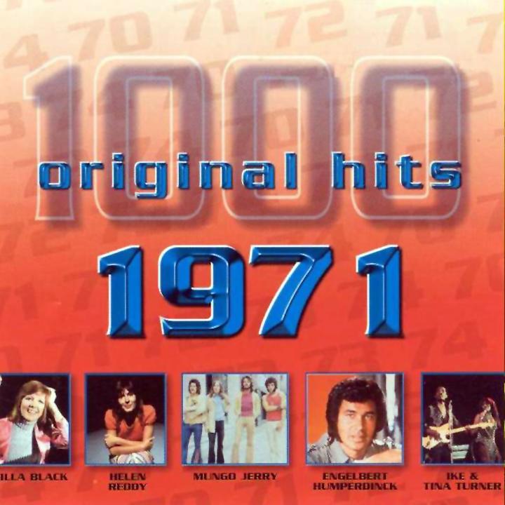 1000 Original Hits 1960-1999  1000_Original_Hits_1971_-_Front