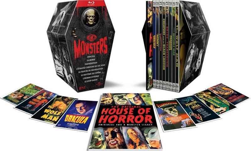 Planning Des Editions collector Blu-ray/DvD Monsters_fr