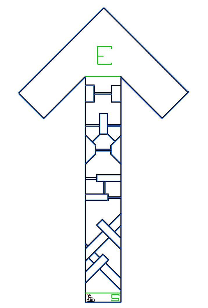 [Mini] COTM #30: Upwards Low Linecount Maze Upmaze