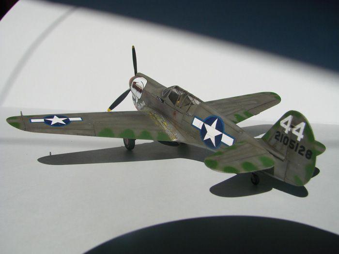 P-40N(rebuild), Hasegawa, 1/72 DSC03748