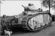 Камуфляж французских танков B1  и B1 bis Madagascar_02