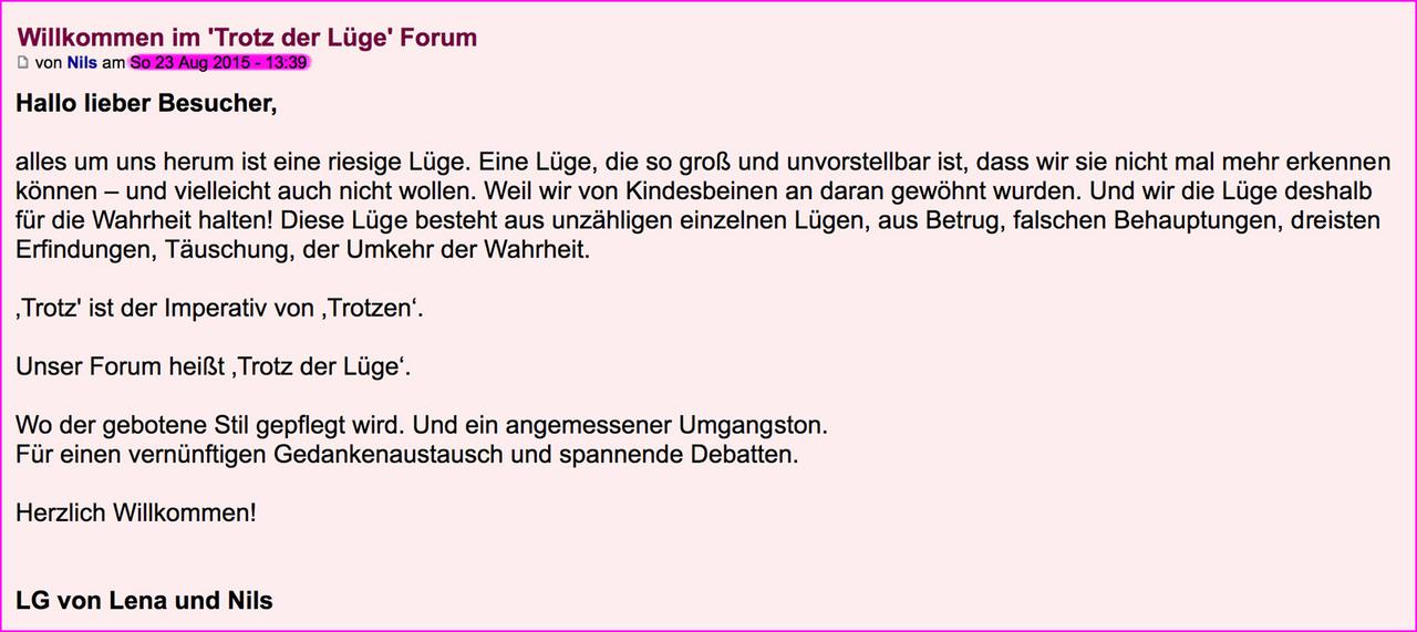 Wichtige Infos plus allgemeiner Überblick – 'TdL-Forum' 1_jahr_0001