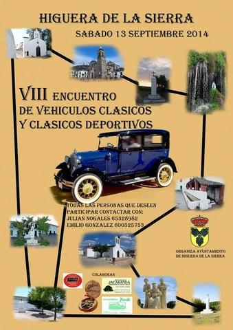 NUEVOS EVENTOS SEPTIEMBRE 2014 Encuentro_de_vehiculos_clasicos_higuera