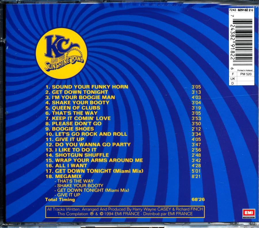 KC and The Sunshine Band Kc1