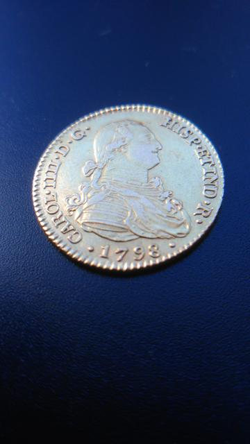 Carlos IV 2 escudos 1798 Image