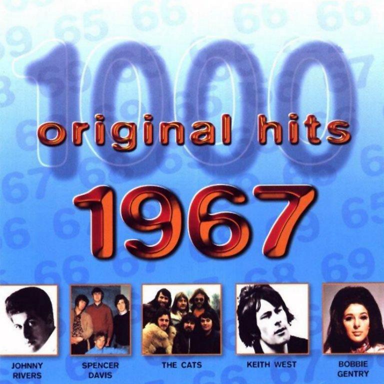 1000 Original Hits 1960-1999  1000_Original_Hits_1967_-_Front