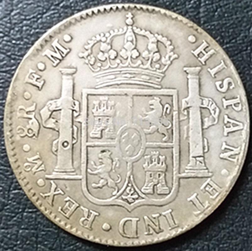 8 Reales 1790 Méjico Busto de Carlos IV IMG_3699