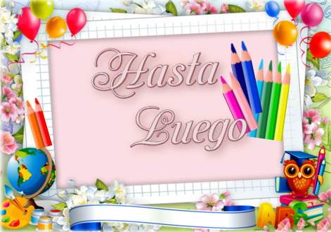 A Clases !! HASTA_LUEGO
