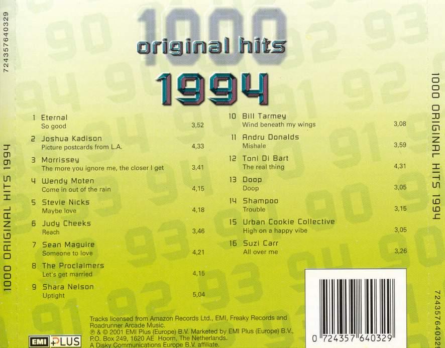 1000 Original Hits 1960-1999  - Stránka 2 1000_Original_Hits_1994_-_Back