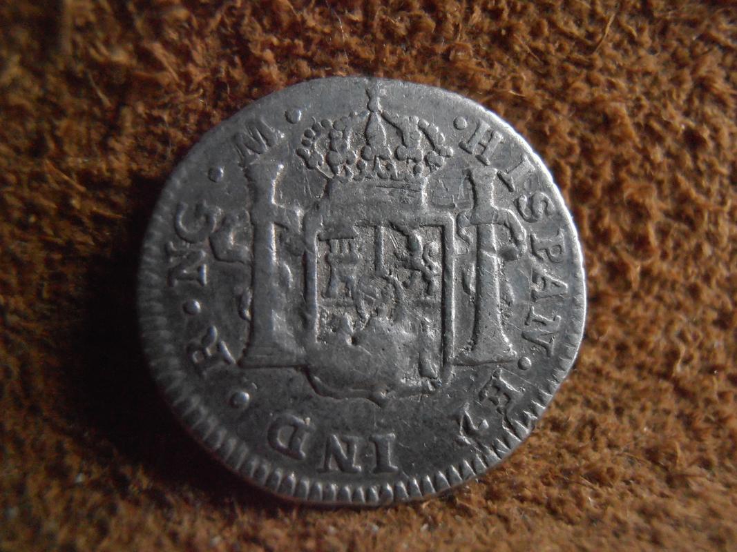 1/2 real 1791. Carlos IV. Guatemala. Cabeza grande P2280039