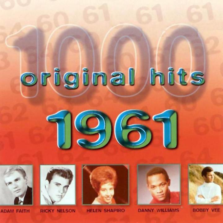 1000 Original Hits 1960-1999  1000_Original_Hits_1961_-_Front