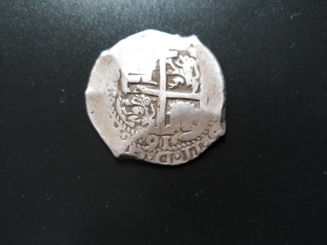 8 Reales macuquinos de Carlos II de 1691 ceca Potosi.  IMG_20170624_200205
