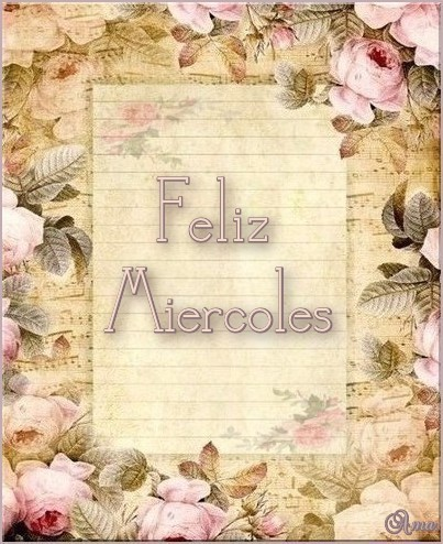 Papel Carta Antiguo MIERCOLES