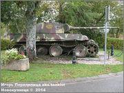 "Немецкий тяжелый танк PzKpfw V Ausf.G  ""Panther"",  rue D'Erezee, Manhay, Belgique Panther_Manhay_224"