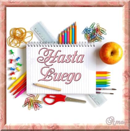Comienzo de Clases  HASTA_LUEGO