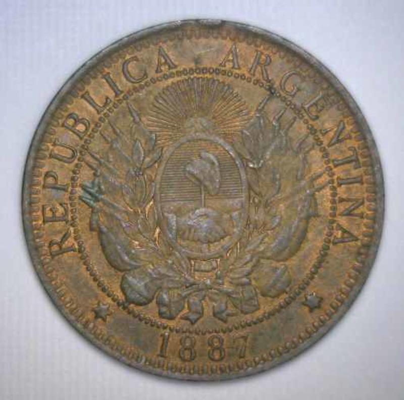 Argentina. 2 Centavos. 1891 - Página 2 AA_ANVERSO_de_cobre_1887