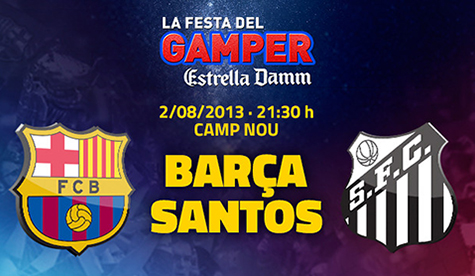 Trofeo Joan Gamper 2013 - FC Barcelona Vs. Santos (720p) (Castellano) GAMPER