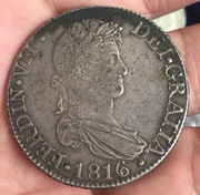 8 reales 1816. Fernando VII. Sevilla. IMG_3861