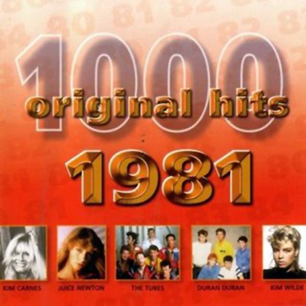 1000 Original Hits 1960-1999  1000_Original_Hits_1981_-_Front