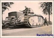 Камуфляж французских танков B1  и B1 bis 209993438