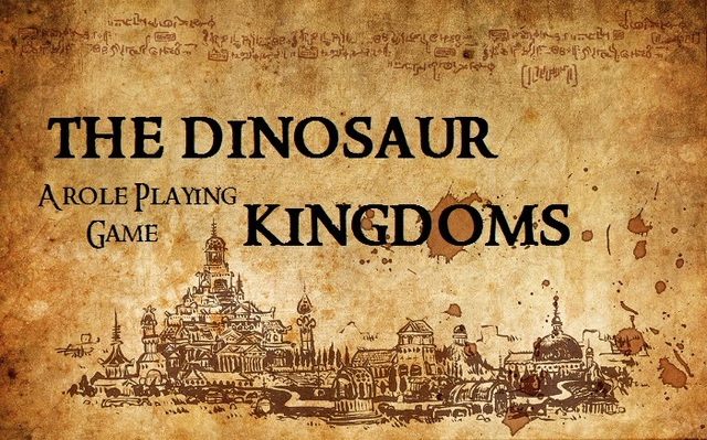 The Dinosaur Kingdoms Role Playing Game Banner