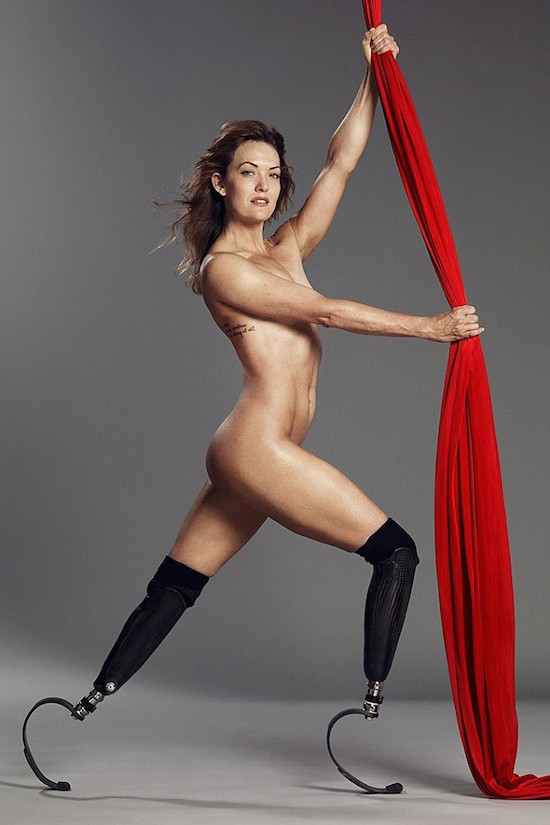 SAY GOOD BYE TO YOUR LITTLE FRIEND   - Page 2 Amy_Purdy_Nude_And_Covered_In_ESPNs_2014_Body_Is