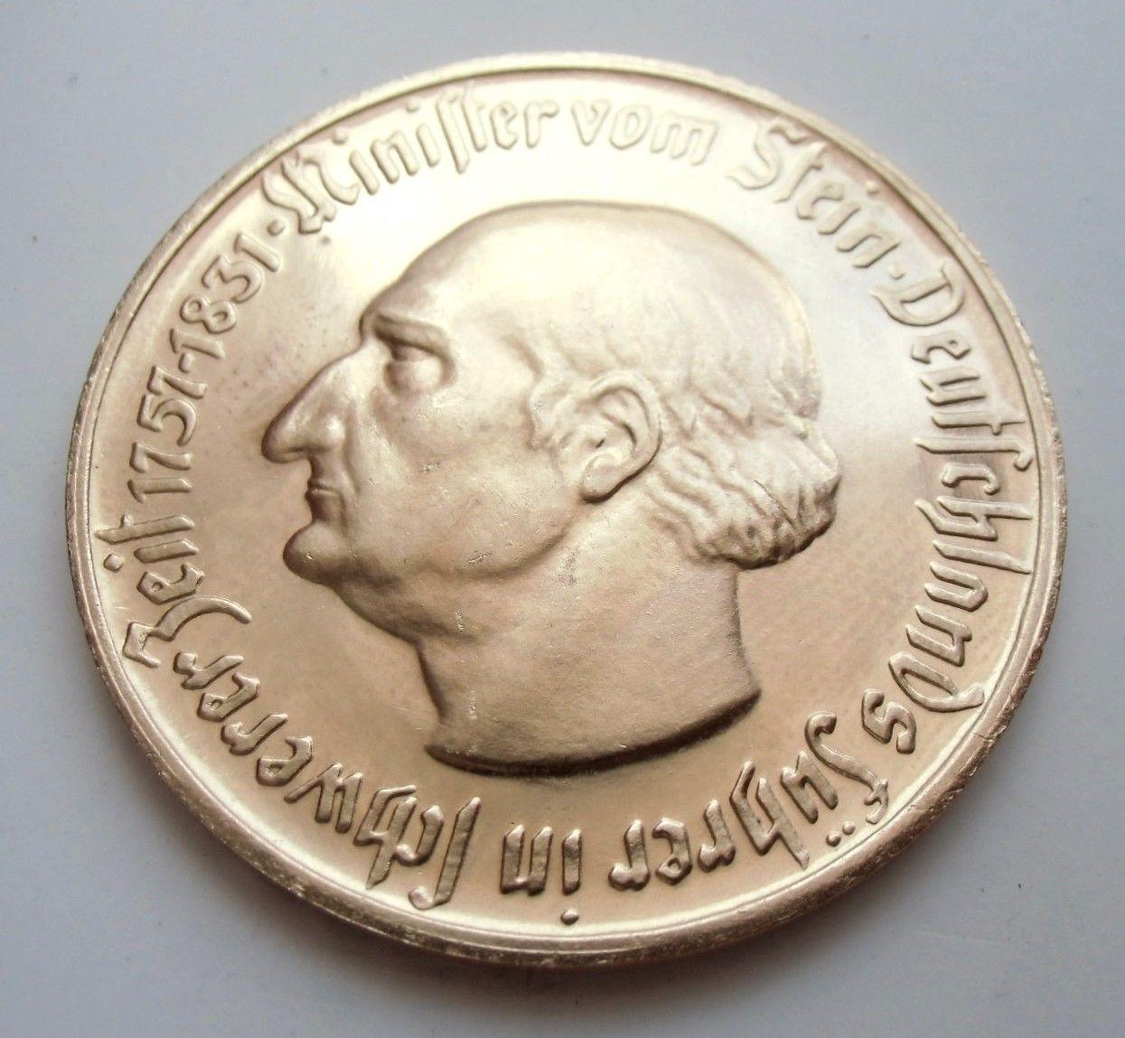 Monedas de emergencia emitidas por el banco regional de Westphalia 1922_500a