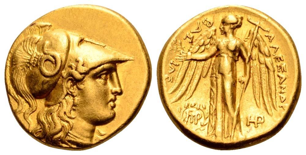 Monedas extraordinarias del periodo Clásico. Estatera_8877676