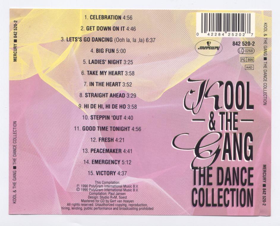 Kool and The Gang Back