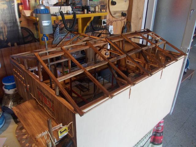 """Diorama: taller mecánico """"de toda la vida"""" escala 1/10 - Página 2 153"""