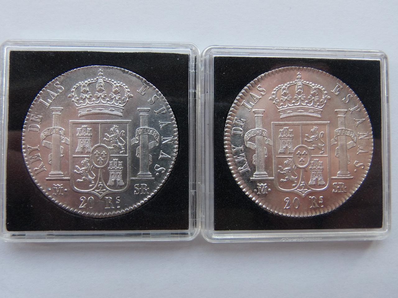 20 Reales 1823 Madrid PC031405