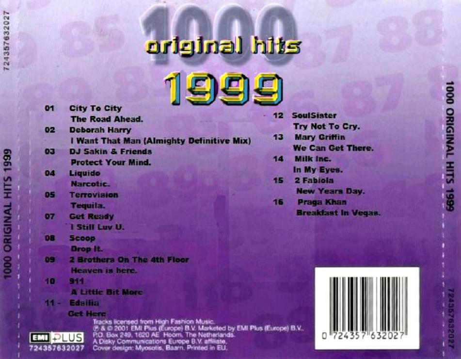 1000 Original Hits 1960-1999  - Stránka 2 19999