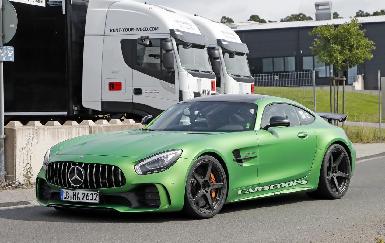 AMG GT Black Series esperado para 2020 Mercedes-amg-gt-r-black-series-2