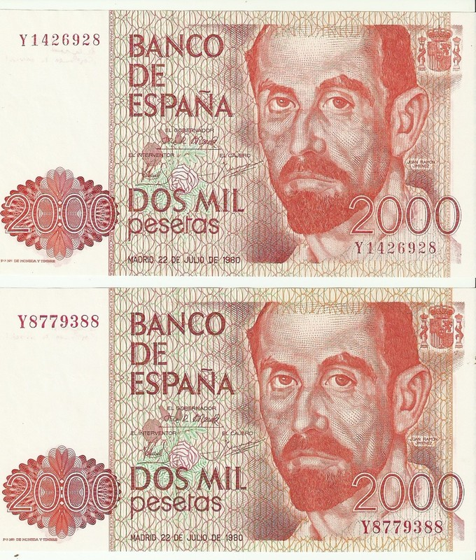 Variación tipográfica en el billete de 2000 pesetas de 1980 Escanear0002