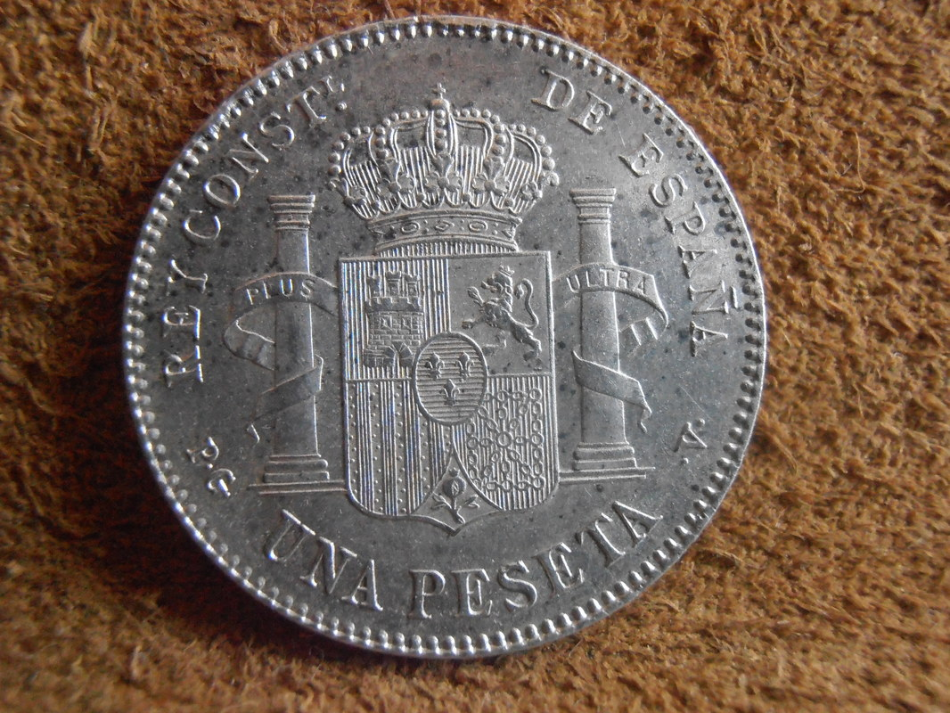 1 Peseta 1896. Alfonso XIII P3180014