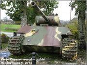 "Немецкий тяжелый танк PzKpfw V Ausf.G  ""Panther"",  rue D'Erezee, Manhay, Belgique Panther_Manhay_211"