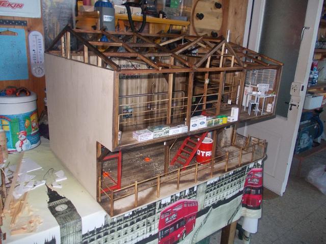 """Diorama: taller mecánico """"de toda la vida"""" escala 1/10 - Página 2 151"""