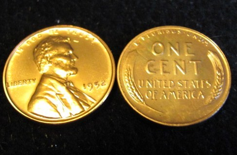 Coleccion Centavos Lincoln 1909-2016 - Página 2 1952
