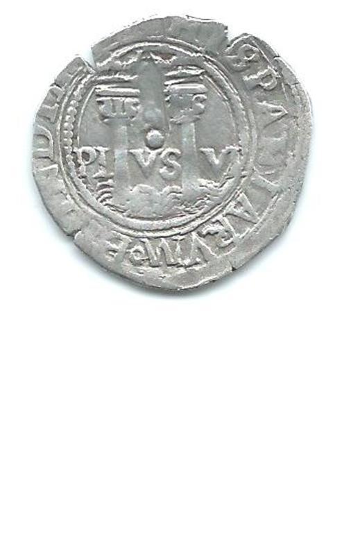1 real de Juana y Carlos de 1564 - 1567 Image